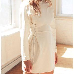 Silence and Noice corset sweatshirt dress